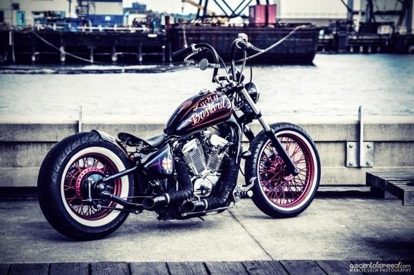 Bobber 400 Et 600 Shadow Ta Moto